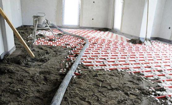 Стяжка пола сухопрессованная в Минске